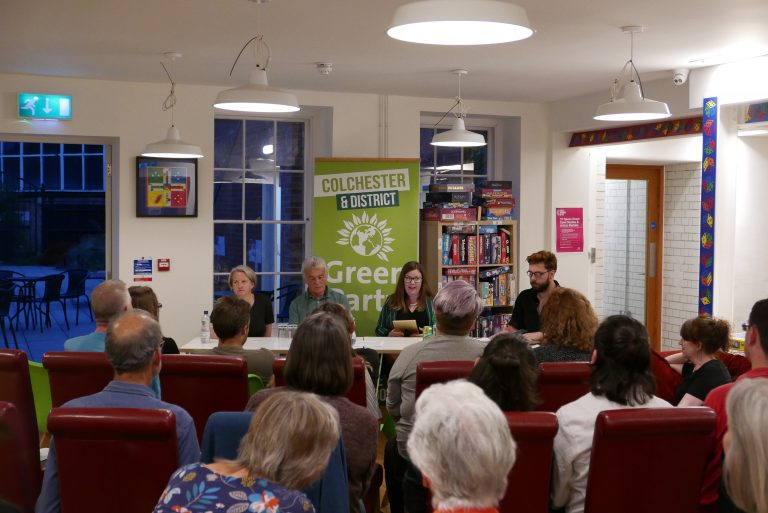Colchester & District Green party AGM
